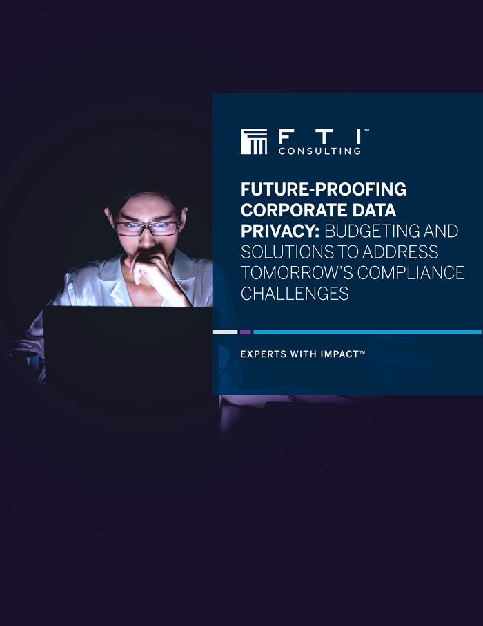 Future-Proofing Corporate Data Privacy: Budgeting and Solutions to Address